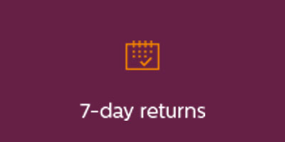 7 day returns