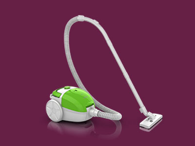 EasySpeed Vacuum Cleaner with Bag